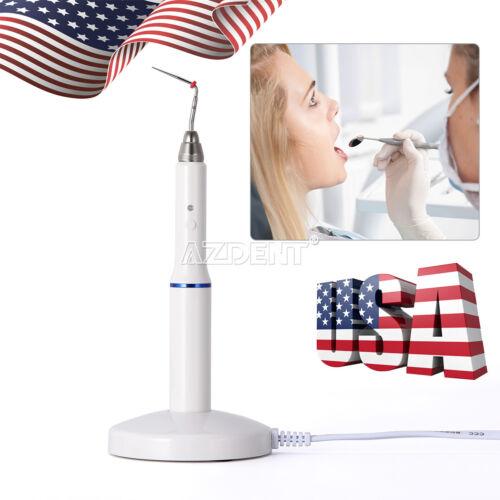 Dental Gutta Percha Obturation System Cordless Endo Heated Pen + 2 Tips