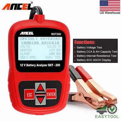 Auto Car Battery Tester Digital Vehicle Analyzer Battery Check Tool ANCEL BST200