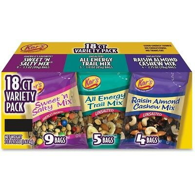 Kars KARSN08826 Variety Nut & Fruit Snack Mix -