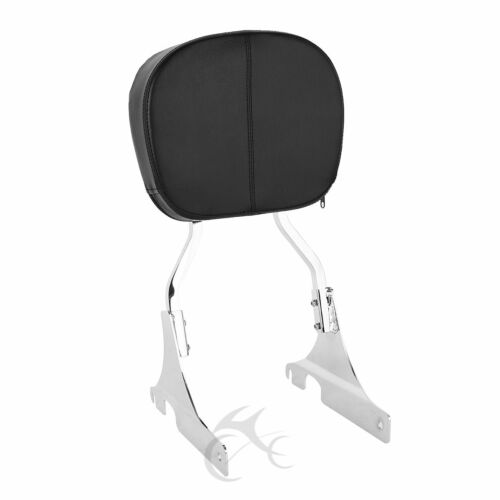 Rigid Sissy Bar Backrest Pad For Harley Softail Custom FXSTC 84-99 Springer84-99