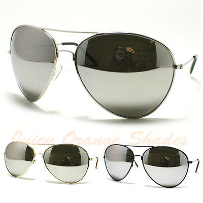 AVIATORS Sunglasses for MEN/WOMEN Super OVERSIZED Super DARK MIRROR (Super Sunglasses For Men)