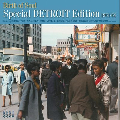 """BIRTH OF SOUL - SPECIAL EDITION 1961 - 64  """"B. LEWIS, FALCONS, B. LAVETTE..."""" CD"""