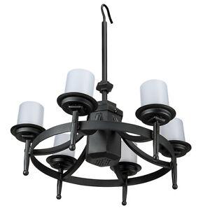 Outdoor chandelier ebay chatham gazebo led outdoor chandelier w remote control aloadofball Gallery