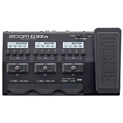 Zoom G3Xn Guitars Multi Effect Unit