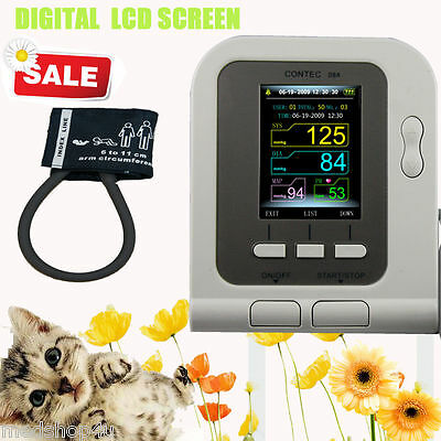 Vet Veterinary Digital Blood Pressure Monitor Contec08a-vetcuff 6-11cm