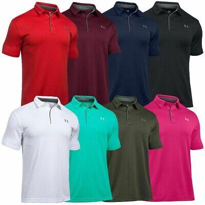 d65205de4a Under Armour UA Tech Men's Golf Polo Shirt - NEW - FREE SHIPPING - 1290140+