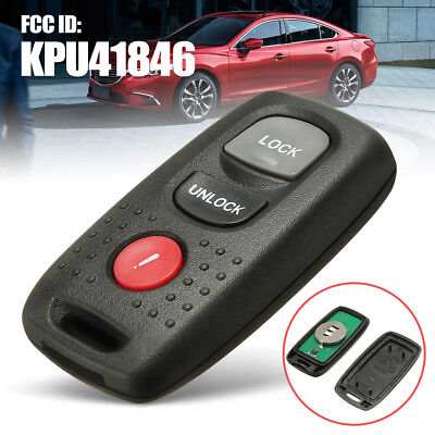 Remote Entry Key Fob Keyless Transmitter For Mazda 3 Mazda 6 2004-2008 KPU41846