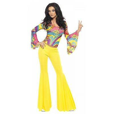 70's Groovy Babe Costume Halloween Fancy - 70s Costumes For Women