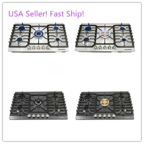 """Luxury 30"""" Cook Stove 5 Burners Built-in Cooktop Gas Hob Coo"""
