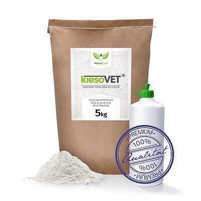 NaturaForte KiesoVet® 5 kg natürliche Kieselerde-Kieselgur