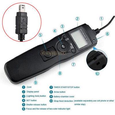 LCD Timer Remote Control Shutter Release for Nikon D610 D3300 D5200 D7100 D7200