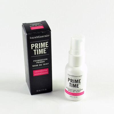 Prime Time Foundation Primer (bareMinerals Prime Time Foundation Primer Neutralizing - Size 1 Oz. / 30mL New)