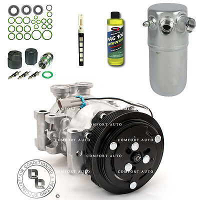 New AC Compressor Kit Fits 1996   2000  Chevy K2500 All Engines