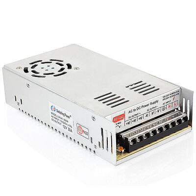 Regulated Power Switching Supply 12v Dc 30a 360w For Led Strip Light