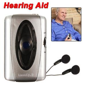 Personal Listen Up Sound Amplifier Listen Device Voice Hearing Aids For Elder US