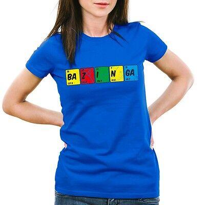 Sheldon Periodensystem Damen T-Shirt chemie theory cooper bazinga big bang tbbt