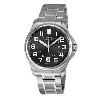 Victorinox Swiss Army 241361 Men's Officers Grey Dial Watch