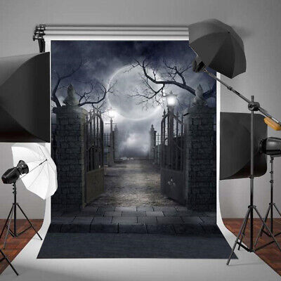 Halloween Wall Backdrops (9 Styles Hot Halloween Wall Photography Backdrops Vinyl Pumpkin Kid Studio)