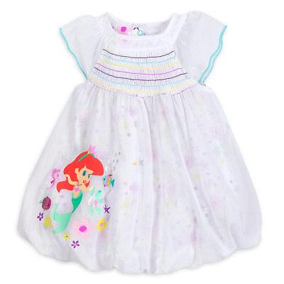 Cute Little Mädchen Kleider (DISNEY STORE LITTLE MERMAID ARIEL WOVEN DRESS MATCHING BLOOMERS BABY CUTE STYLE)