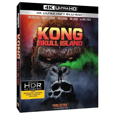 Kong  Skull Island  4K Ultra Hd Blu Ray  2017  Digital Copy