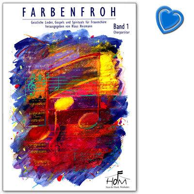 Farbenfroh -  Geistliche Lieder -  Schott Music - ED9573 - 9783896153173