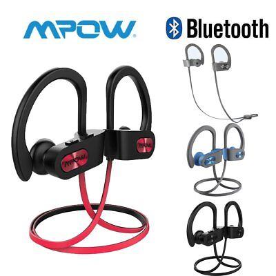 Mpow Bluetooth Earbuds Best Wireless Headphones Running Sports Gym Sweatproof Us
