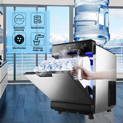 Stainless Steel Commercial Ice Maker Built-In countertop Freestand (Commercial Freestanding Ice Maker)
