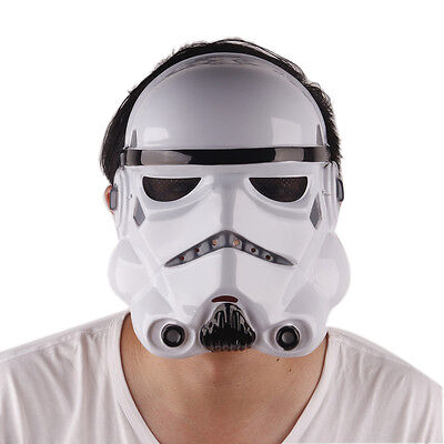 Star Wars Black White Mask Halloween Cosplay Costume Stormtrooper Masks - Halloween Mask White And Black