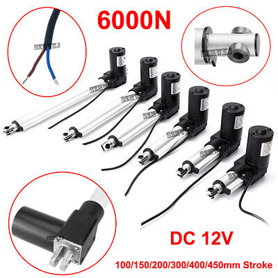 4-18 Dc 12v Linear Actuator 1320lbs6000n For Auto Car Lift Heavy Duty Medical