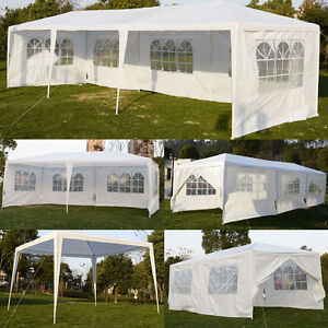 goplus gartenzelt partyzelt 3x3 3x6 3x9m hochzeit bierzelt. Black Bedroom Furniture Sets. Home Design Ideas