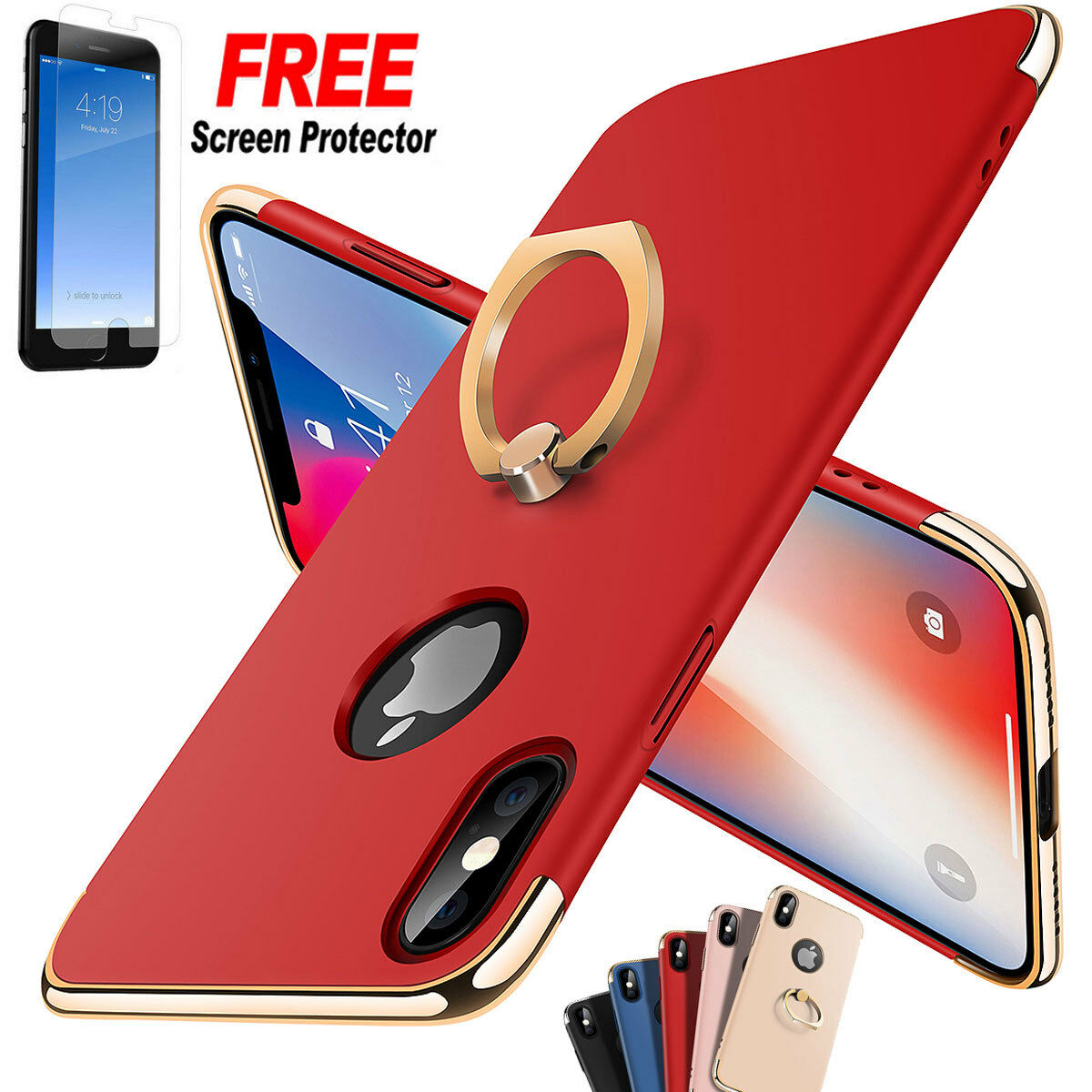 for-iphone-x-10-6s-7-8-plus-case-luxury-ultra-thin-shockproof-hybrid-hard-cover