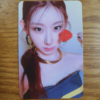 Chaeryeong Official Photocard ITZY Guess Who Genuine Kpop