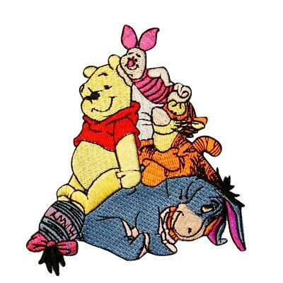 Winnie the Pooh & Friends Patch Tigger, Piglet, Eeyore Disney Iron On Applique