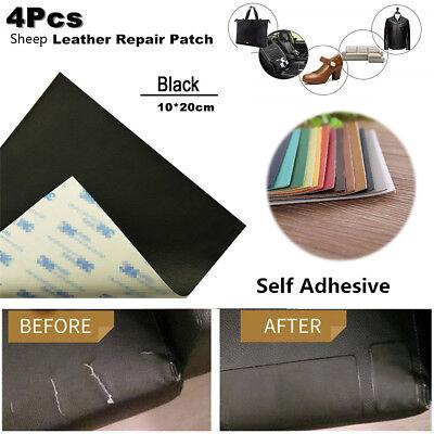 4X Leather Repair Patch Vinyl Adhesive Waterproof Cutable DIY for Sofa Car Seats