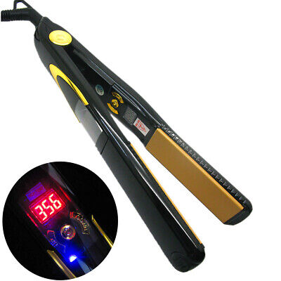 Titanium PROFESSIONAL Vibrating Hair Straightener The Best Flat Iron - US Plug