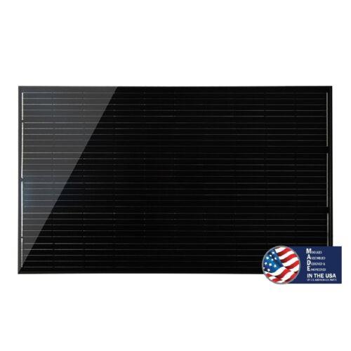 Mission Solar MSE PERC 60 BLK Solar Panel, 310 Watt PV Module (Set of 10)