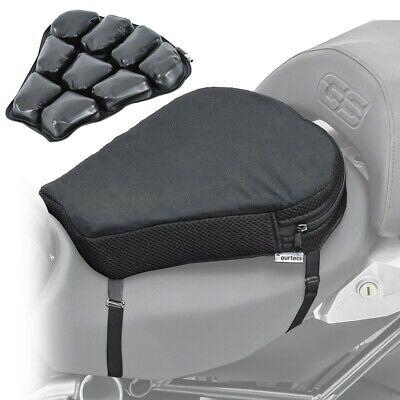 Motorcycle Comfort Seat Cushion Tourtecs Air M Motorbike Pillow Pad Cover