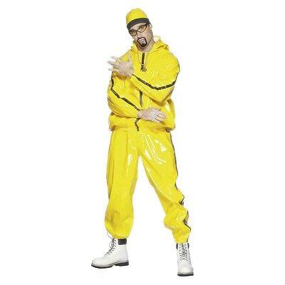 Ali G Costume 80s 90s Rapper Funny Adult Halloween Fancy Dress (Ali G Halloween)