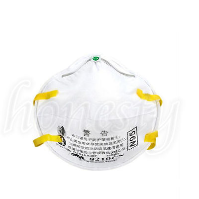 1050pcs 3m 8210 N95 Particulate Paint Face Safety Respirator Adult Dust Masks