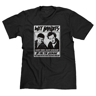 WET BANDITS HOME ALONE HARRY MARV MACAULAY CULKIN CHRISTMAS HOLIDAY T-SHIRT TEE (Wet Shirt)