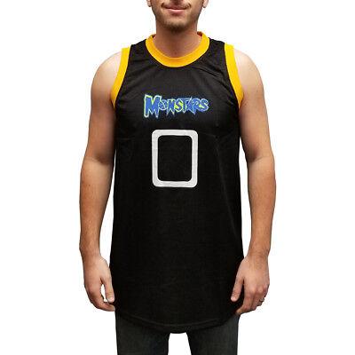 Monstars 0 Basketball Trikot Space Jam Movie Alien Uniform Kostüm - Monster Jam Kostüm
