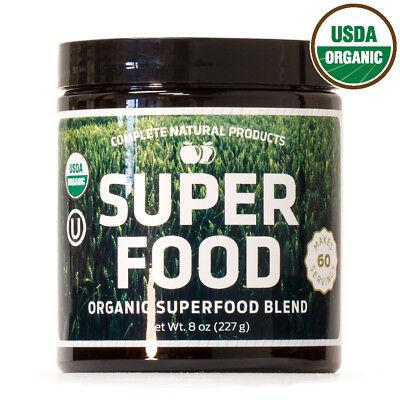 Organic & Kosher Greens Superfood Powder Blend Supplement 60 Servings