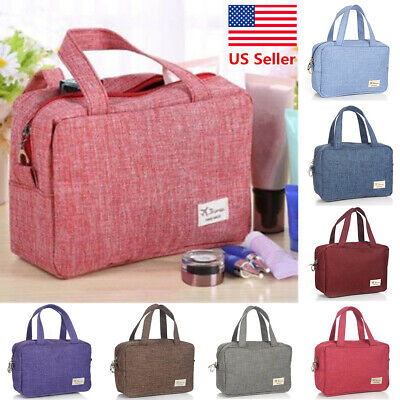 US Cosmetic Makeup Bag Travel Wash Organizer Storage Hanging Pouch Toiletry Case Health & Beauty
