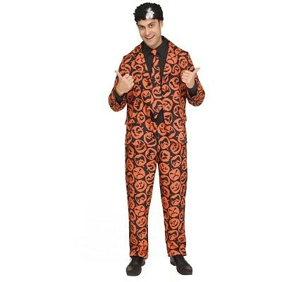 David S. Pumpkins Suit Adult Costume Halloween Saturday Night Live SNL TV Show