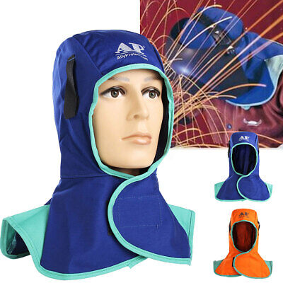 Flame Retardant Safety Helmet Welding Neck Protective Cap Hood Welder Head Cover
