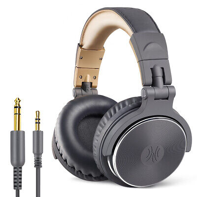 OneOdio Adapter-free Closed Back Over-Ear Headphone Studio Pro-10 Grey