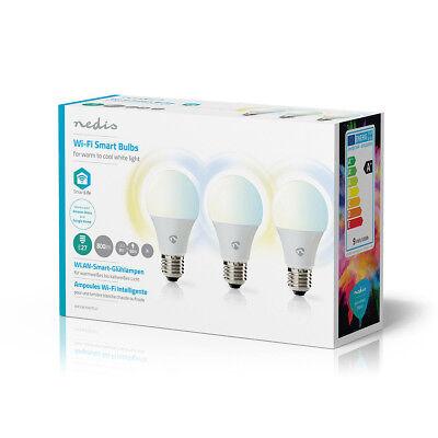3 Stück Smarte LED Glühlampe warmweiss E27 Glühbirne Lampe zb für amazon alexa ()