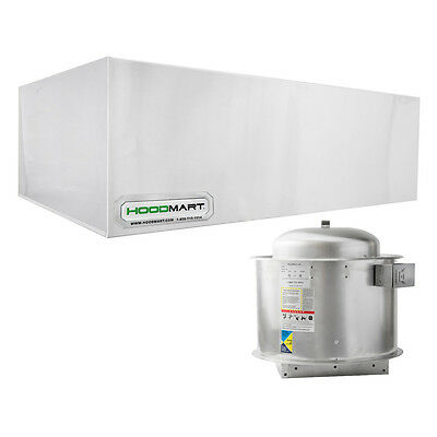 Hoodmart 12 X48 Type 1 Commercial Kitchen Restaurant Exhaust Hood System