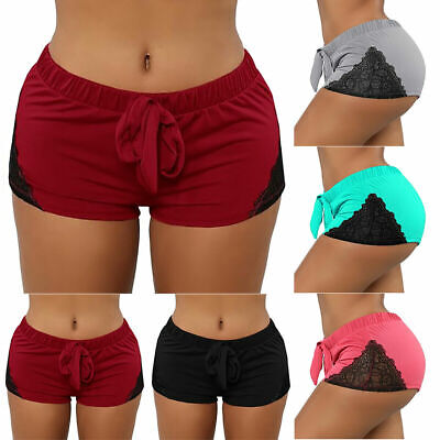 Womens Sports Yoga Shorts Butt Lift Hot Pants Workout Running Booty Gym Stretchy