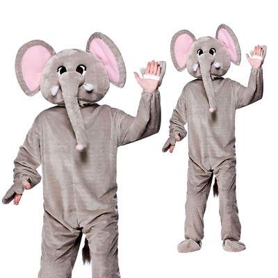 Luxus Maskottchen Coldplay Paradise Elefant Kostüm Tier D (Riese Tier Kostüme)